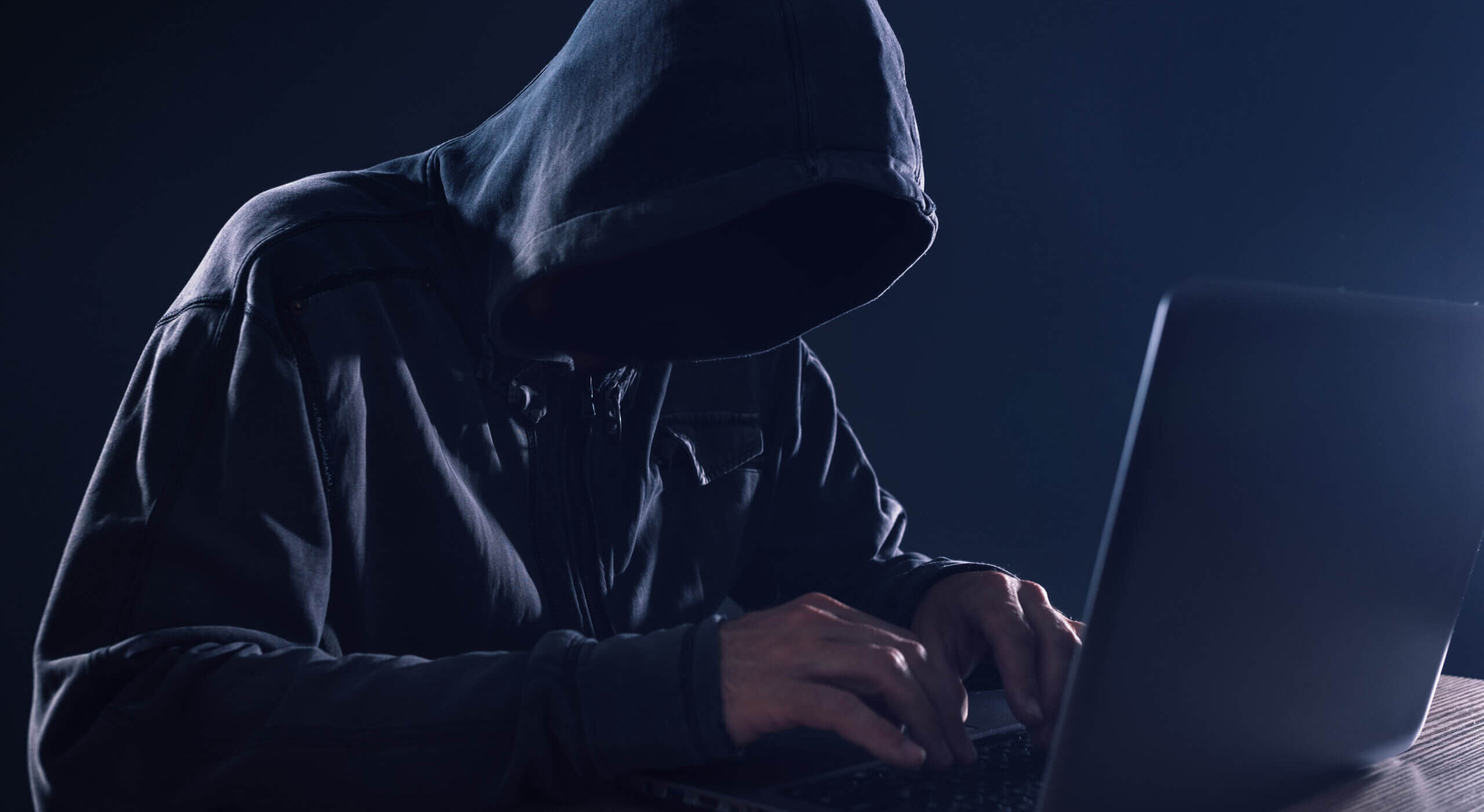 Cyber crime and computer virus concept